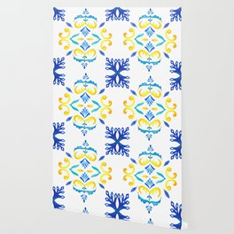 Lisbon tiles Wallpaper