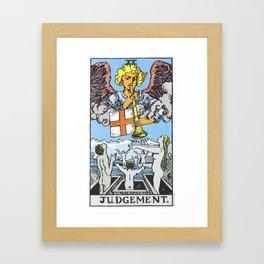 20 - Judgement Framed Art Print