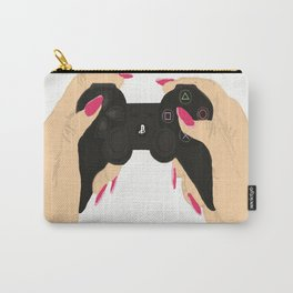 girl gamer Carry-All Pouch