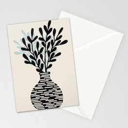 Still Life with Vase and Tree Branches Stationery Cards