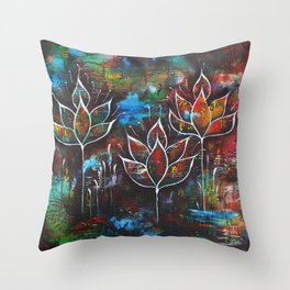 Call of the Mystic Throw Pillow