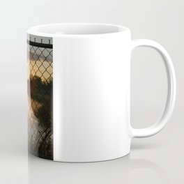 Fenced Sunrise Coffee Mug