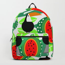 Toucans and watermelons Backpack