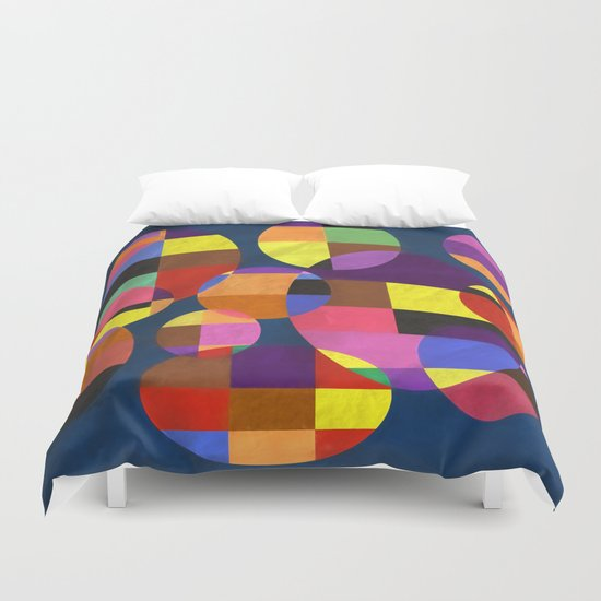 Abstract #372 Duvet Cover