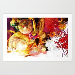 Ode to Homura Art Print