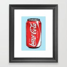 Bane Cola Framed Art Print