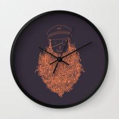 Aye Aye Captain Wall Clock