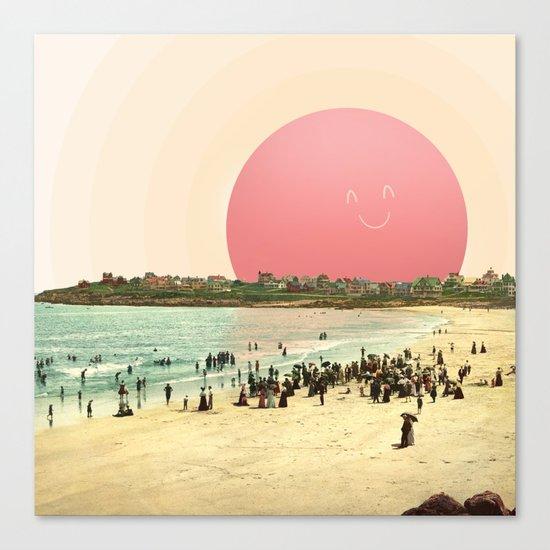 Proud Summer Sun Canvas Print