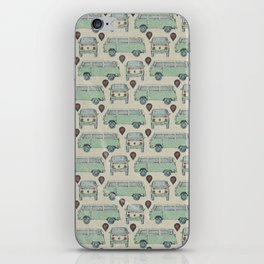 On My Way To Everywhere Pattern iPhone Skin
