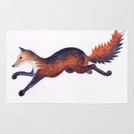Running Fox Rug