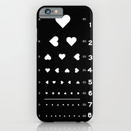 Can you see the love? iPhone Case