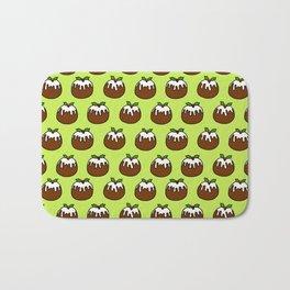Christmas Pudding Pattern Bath Mat