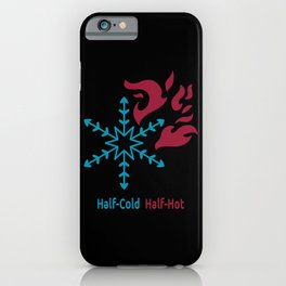 Half-Cold Half-Hot V2 iPhone Case