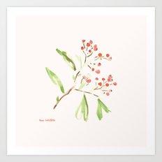 Firethorn Art Print