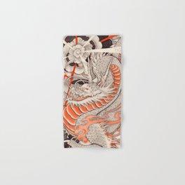 Japanese tattoo Typhoon dragon Hand & Bath Towel