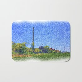 Old time Factory Bath Mat