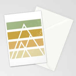Desert color landscape Stationery Cards