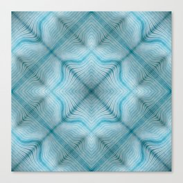 Sultan Silks Blue Sapphire I Canvas Print