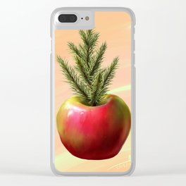 Pine Apple Clear iPhone Case