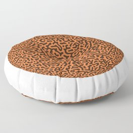 Turing Pattern Sphere (Orange) Floor Pillow