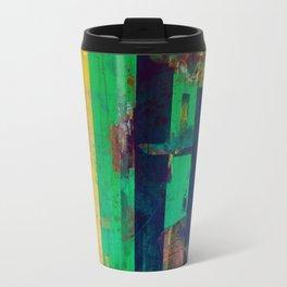 Concrete Poems II Metal Travel Mug