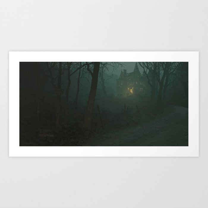 The Old House Art Print