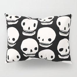 Skull Print Pillow Sham