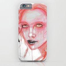 Metamorphosis-flamingo iPhone 6s Slim Case