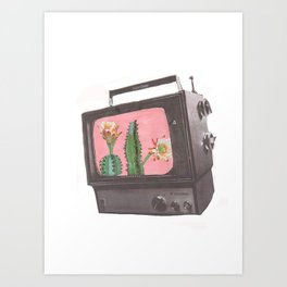 Do Not Adjust Your Screen Art Print