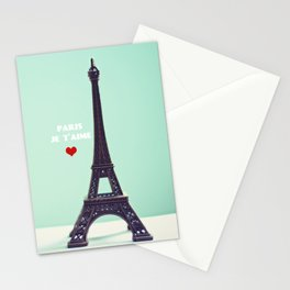 Paris Je T'aime Stationery Cards