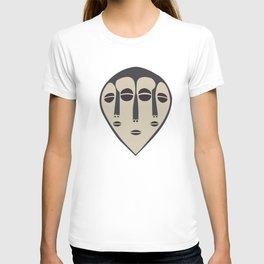 African Tribal Mask No. 5 T-shirt
