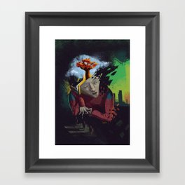 Distorted Dreams Framed Art Print