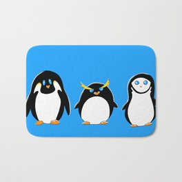 Penguin Brother From Another Mother Bath Mat