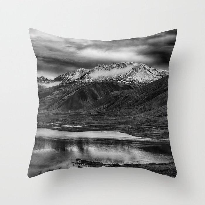 Snaefellnes Peninsula 3 Throw Pillow