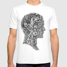 portrait of summer Mens Fitted Tee White X-LARGE