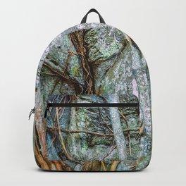 Strangler Fig Closeup Backpack