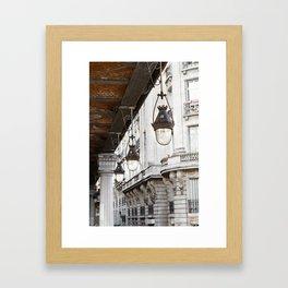 Bir-Hakeim bridge (2), Paris. Framed Art Print