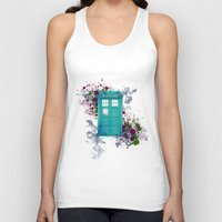 doctor who Tank Tops featuring Doctor Who by Laain Studios