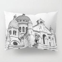 French Sacre Coeur church in Paris Pillow Sham