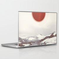 iceland Laptop & iPad Skins featuring Vintage Iceland by jordanwlee.com