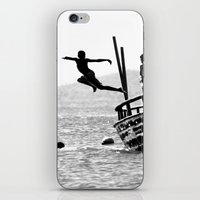 dancing iPhone & iPod Skins featuring Dancing by Eliel Freitas Jr