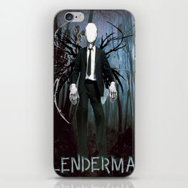 Slenderman iPhone Skin
