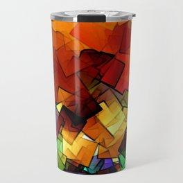 towel full of colors -6- Travel Mug