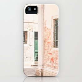 432. Destroy Wall, Venice, Italy iPhone Case