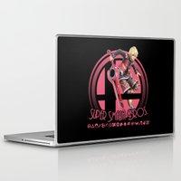 smash bros Laptop & iPad Skins featuring Shulk - Super Smash Bros. by Donkey Inferno