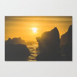 El Matador Beach Canvas Print