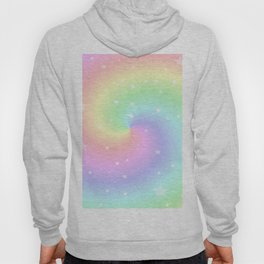 Rainbow Swirls and Stars Hoody