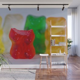 Losing My Mind (The Gummie Bears Photo Original) Wall Mural