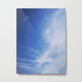 Azure Sky Metal Print