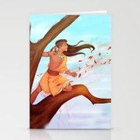 pocahontas Stationery Cards featuring Pocahontas by ribkaDory